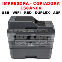Pack Multifuncional Láser Brother DCP-L2540DW + 1 Toner TN-2370