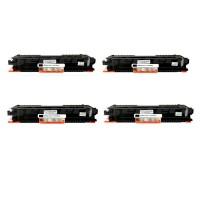 Pack Toner Color Compatible 126A BK/C/M/Y
