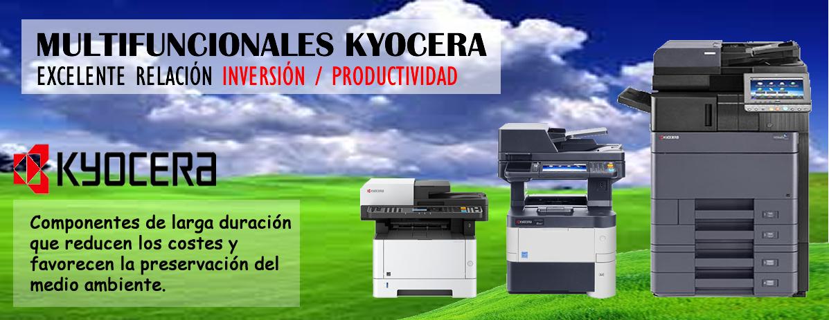 Impresoras y Multifuncionales Kyocera