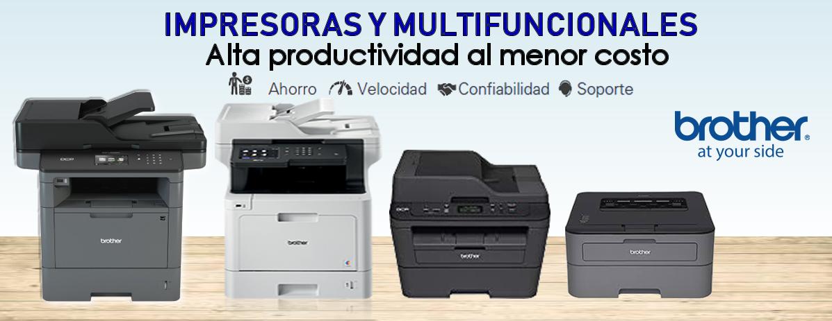 Impresoras y Multifuncionales Brother